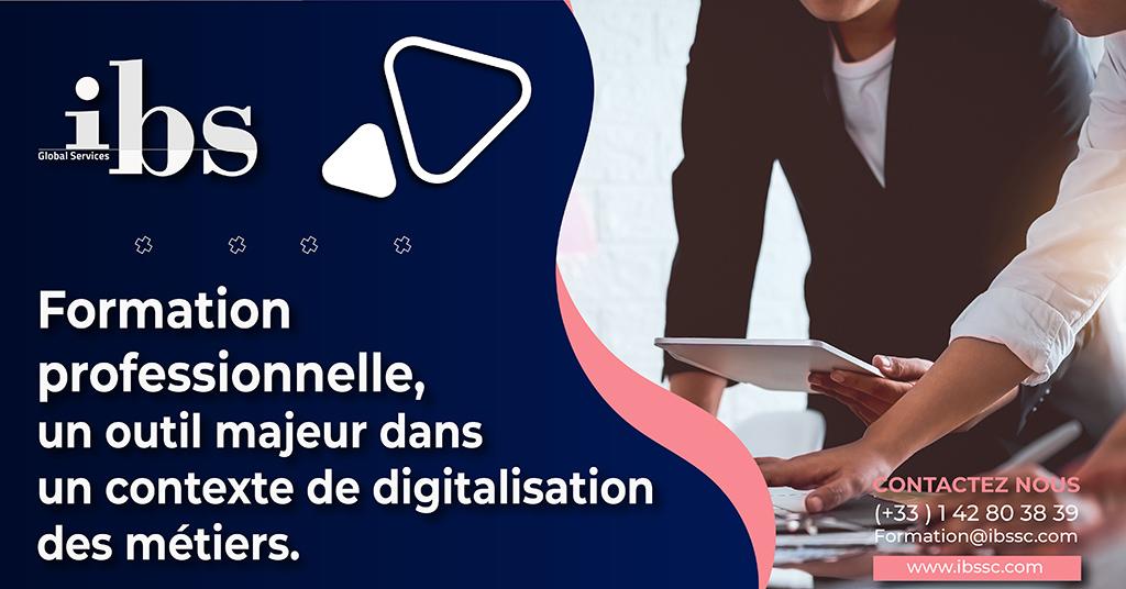 La formation professionnelle et les métiers du numérique