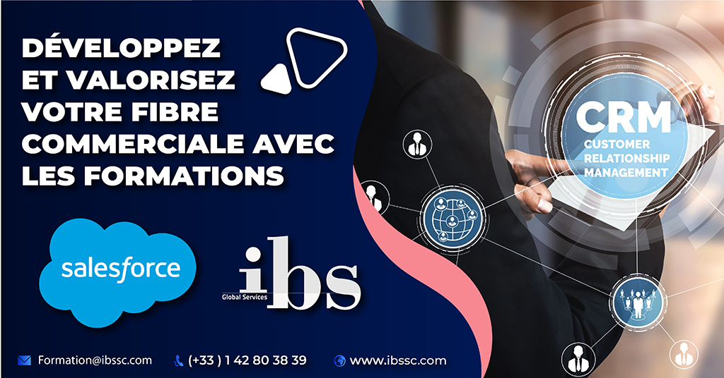 Les formations Salesforce de IBS Global Services