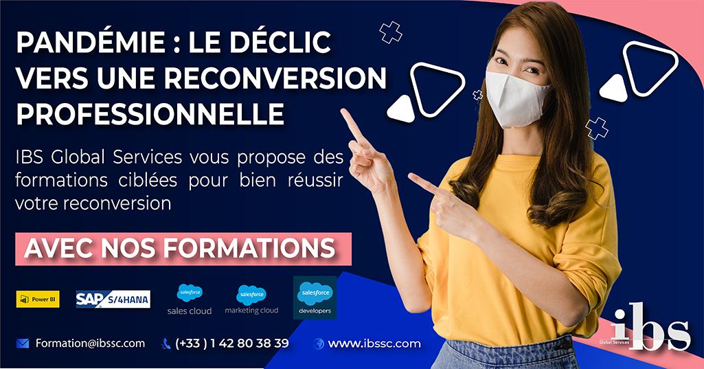 La reconversion professionnelle à l'heure de la pandémie du Coronavirus